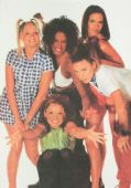 Spice Girls - 'Group White' Postcard